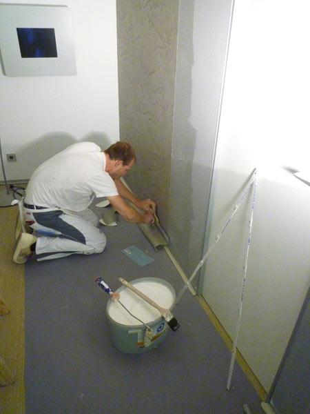Malerarbeiten im Augenzentrum Köln