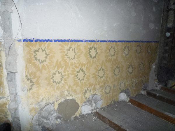 Historische Wandbemalung in Oberkassel