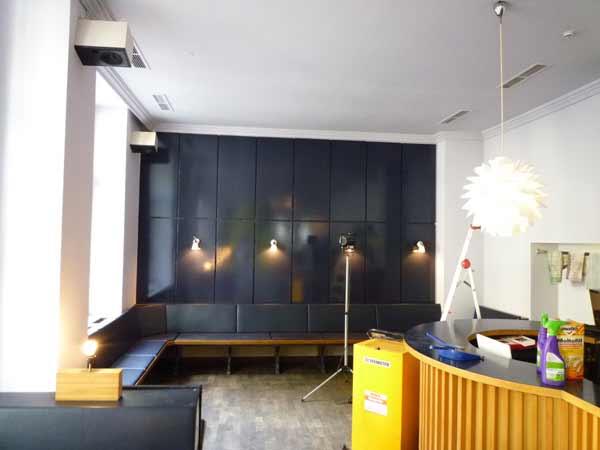 Renovierung im Cafe nooij