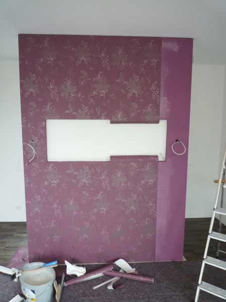 Neugestaltung eines Schlafzimmers