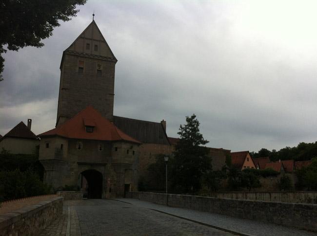 Ortseingang Dinkelsbühl