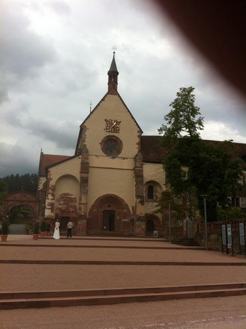 Die Kirche bei Reicholzheim