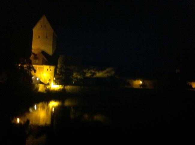 Dinkelsbühl bei Nacht
