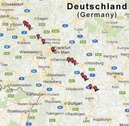 Nur noch circa 120km bis Augsburg!