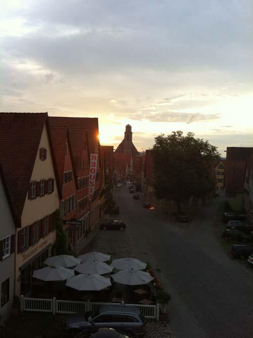Letzte Etappe: Von Dinkelsbühl nach Augsburg!