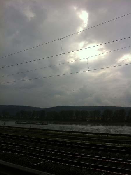 Für Fortuna nach Stuttgart! Unterwegs