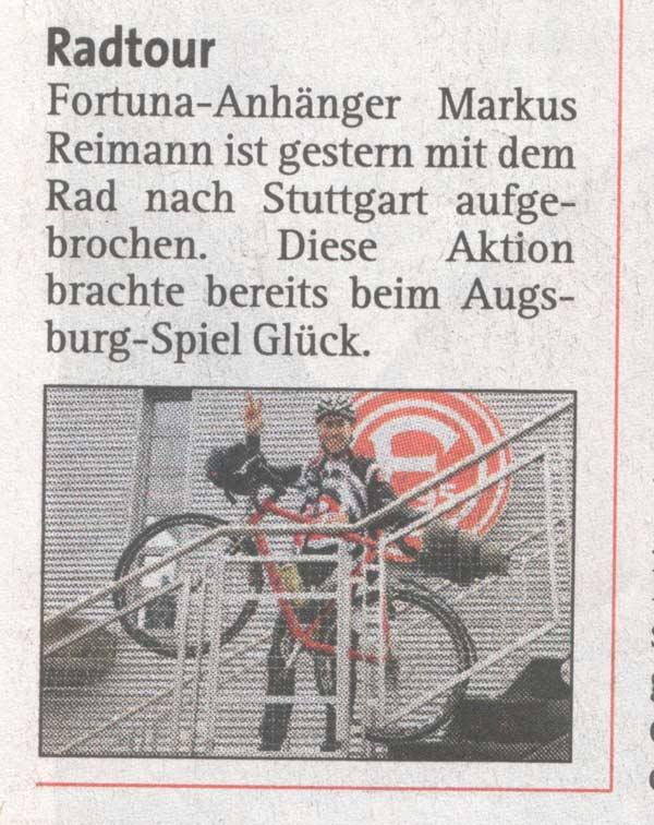 Express berichtet über Meister Reimann!