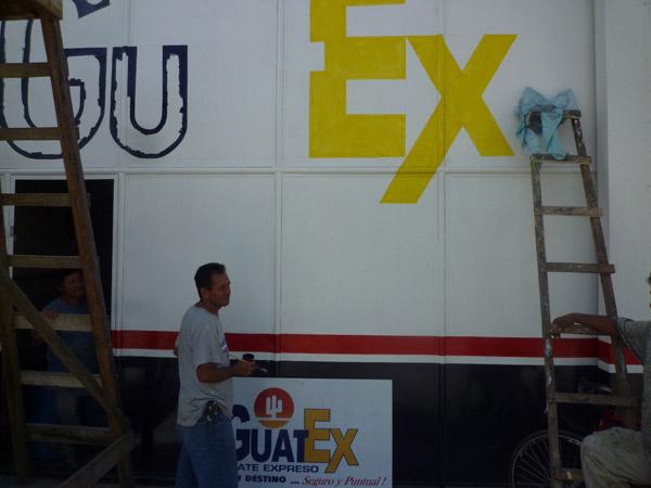 Handwerkskollegen in Guatemala