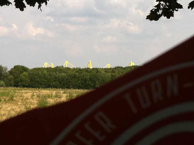 Ein gelbes Ufo bei Dortmund - Für Fortuna nach Berlin