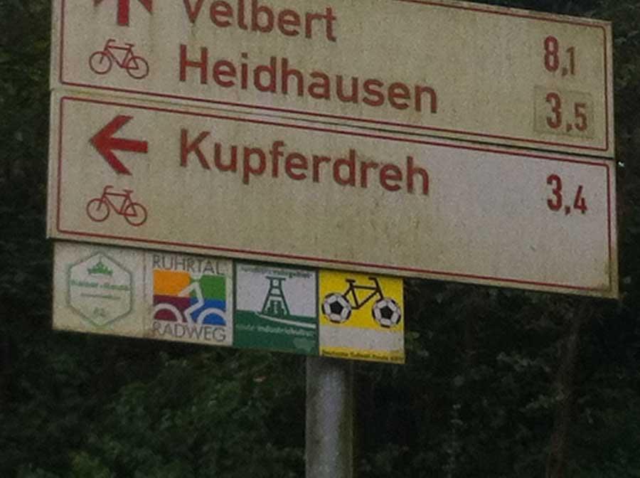 Für Fortuna nach Bochum! - Unterwegs bei Kupferdreh