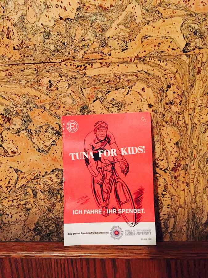 Tuna for Kids! -  Darum dreht sich alles. Sogar in Emmerthal