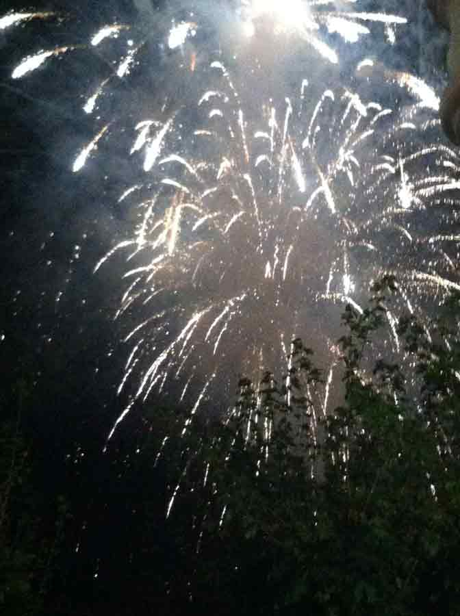 Tuna for Kids! - Feuerwerk in Boppard zum Abschluss der Tagesetappe