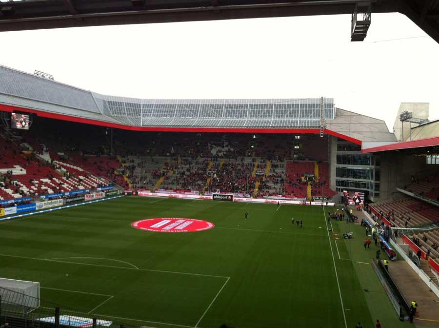 Tuna for Kids! - Ankunft im Stadion Kaiserslautern