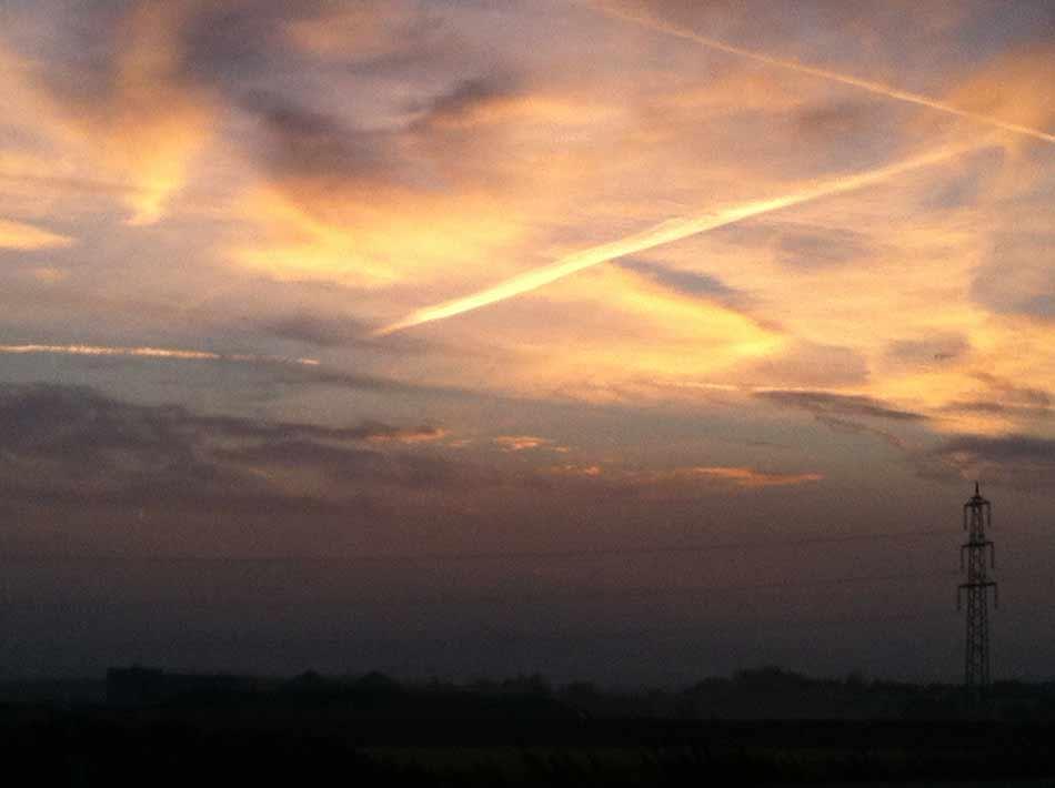 Tuna for Kids! Der Morgenhimmel brennt über dem Odenwald - Foooortuuuunaaa!