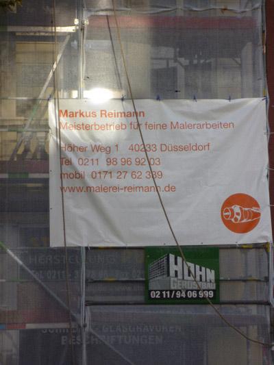 Fassadenarbeiten in Düsseldorf