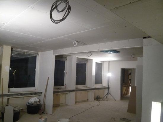 Malerarbeiten im Therapiezentrum Dr. Heister in Köln